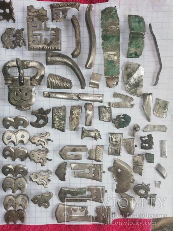 Коллекция  пояса Пеньковской культуры.