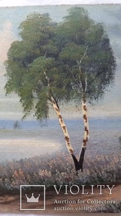 Картина 1917р.,  20х30 см, картон, олія, фото №4