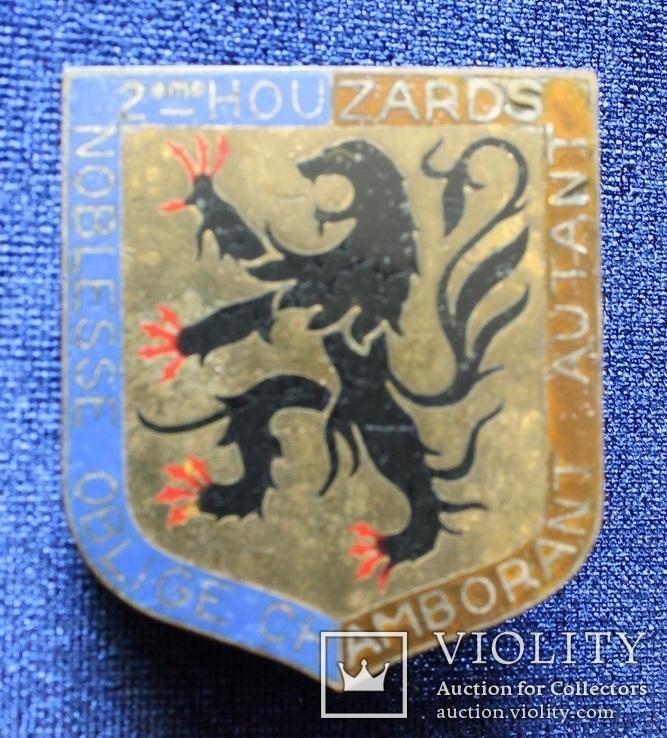 Франция. Полковой знак. 2-й гусарский полк. (3), фото №2