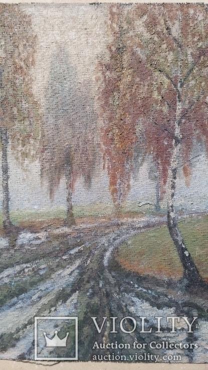 Картина, мішковина, олія, 38х56 см, фото №4