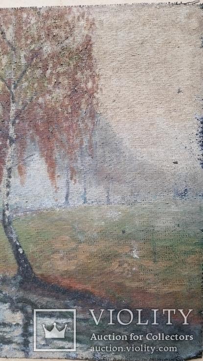 Картина, мішковина, олія, 38х56 см, фото №5