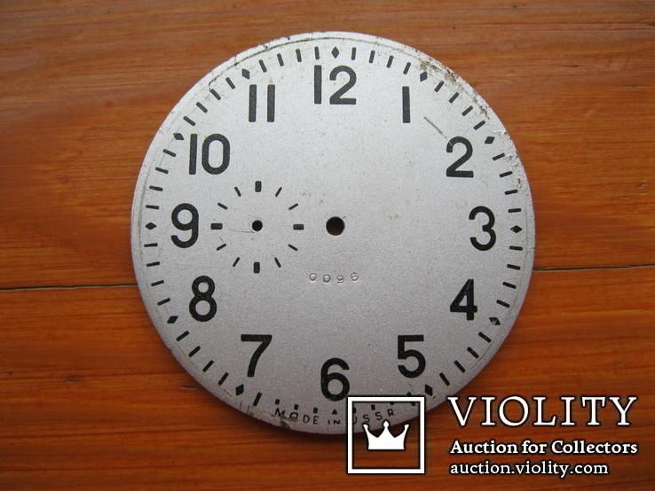 Циферблат от карболитных часов d58 mm, фото №2