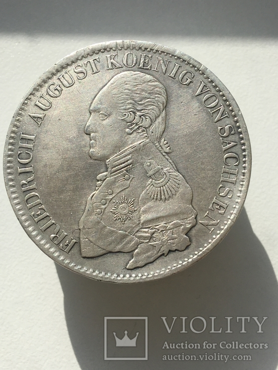 Саксония 1 талер, 1820