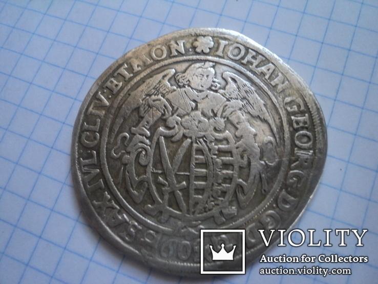 Кипер 60 грошен 1623 Саксония, фото №13