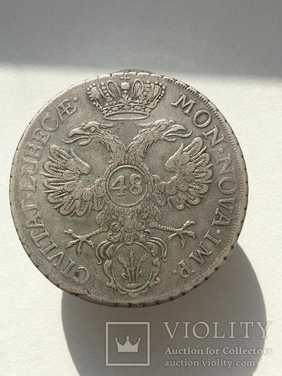 Любек  (Немецкие штаты) 48 шиллингов, фото №2