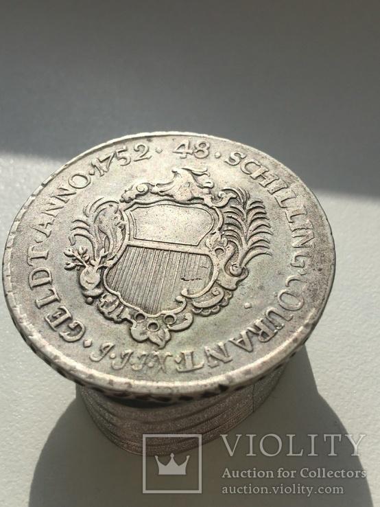 Любек  (Немецкие штаты) 48 шиллингов, фото №5
