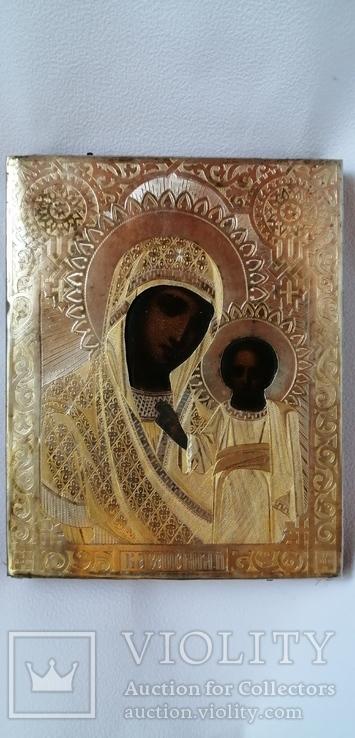 Икона Богородица Казанская 84 , 1877 г.