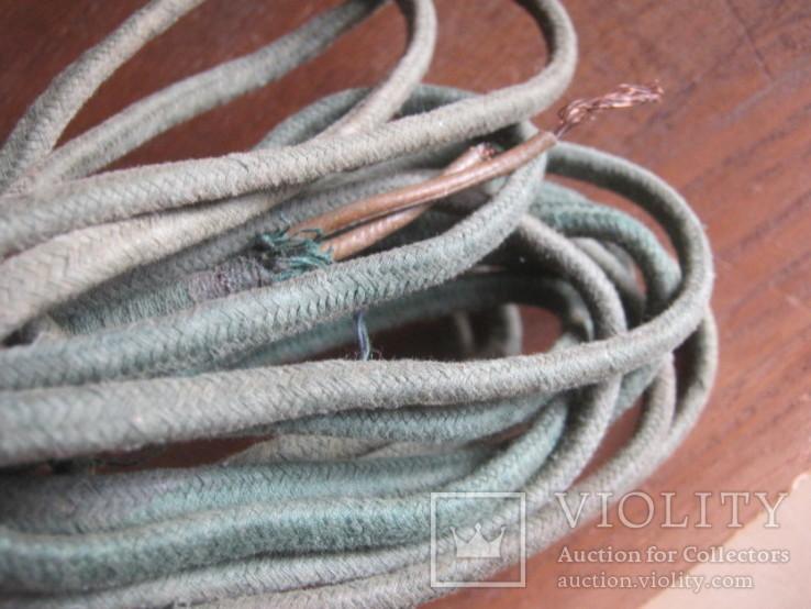 Ретро шнур в тканевой оплетке 3,8 м, фото №4