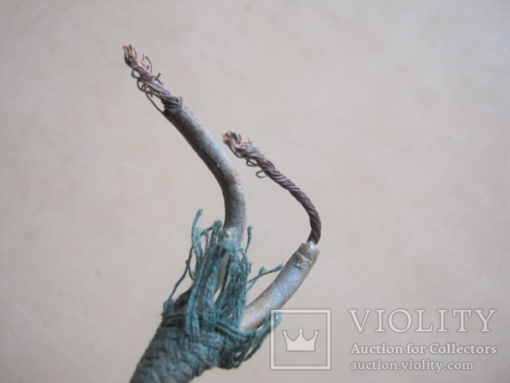 Ретро шнур в тканевой оплетке 3,8 м, фото №5