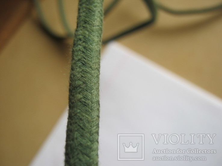 Ретро шнур в тканевой оплетке 3,8 м, фото №10