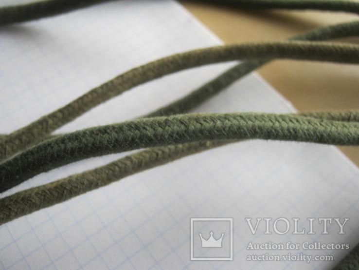 Ретро шнур в тканевой оплетке 3,8 м, фото №12