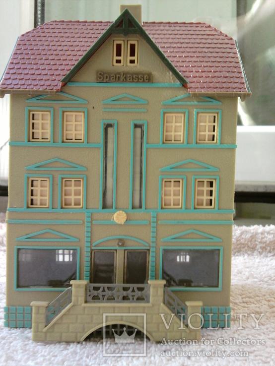 Трехэтажный домик фирмы Vero в масштабе  1:87, фото №2