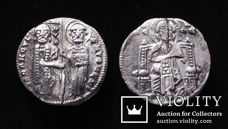 Венеціанська республіка, 48-й дож Джованні Дандоло (1280-1289рр.), срібний гроссо.