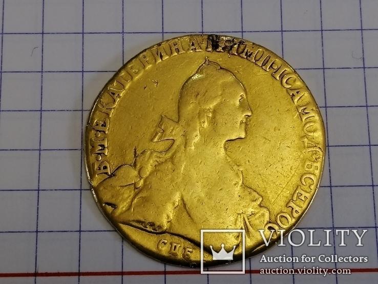10 рублей Екатерина 1767г.спб