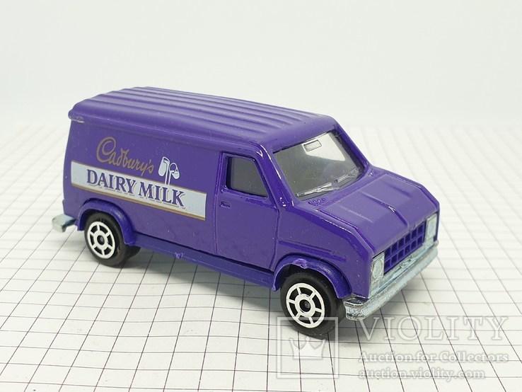 MAJORETTE FOURGON Cadbury's Dairy Milk (c), фото №6