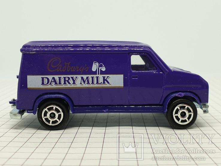 MAJORETTE FOURGON Cadbury's Dairy Milk (c), фото №7