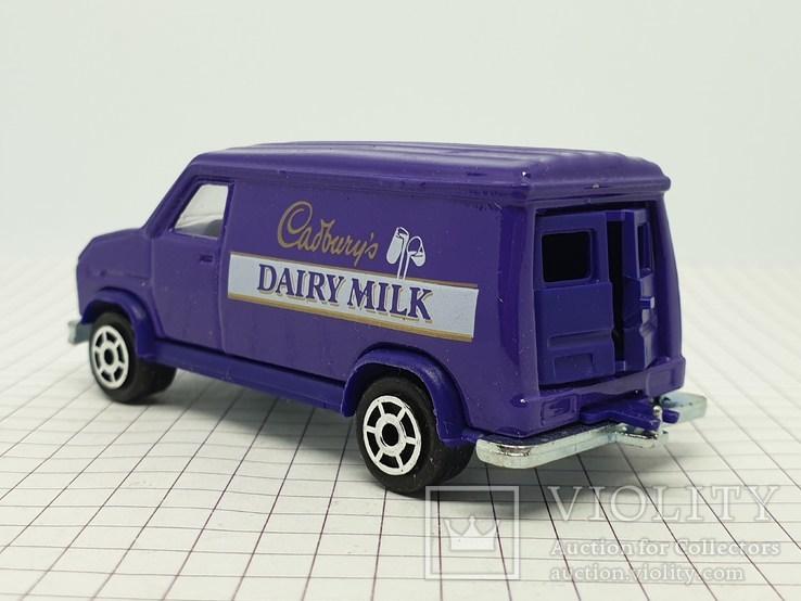 MAJORETTE FOURGON Cadbury's Dairy Milk (c), фото №9
