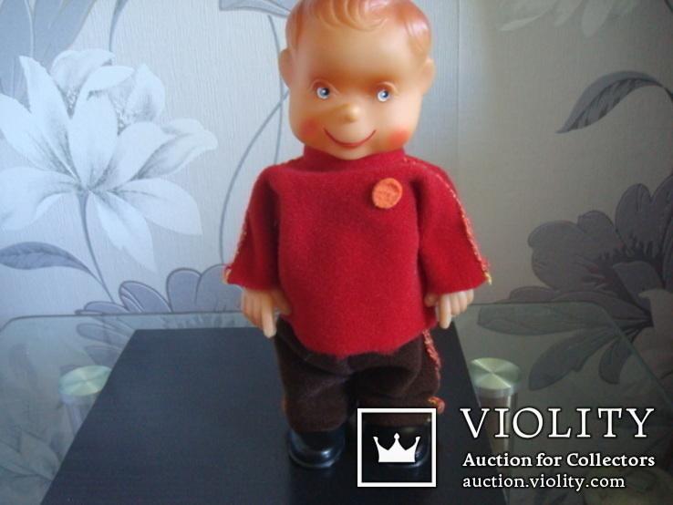 Заводная игрушка ГДР-Шагающий мальчик, фото №2