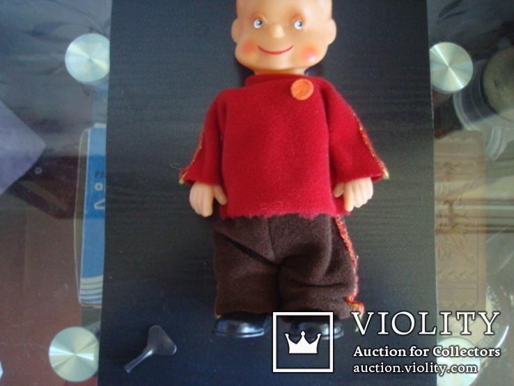 Заводная игрушка ГДР-Шагающий мальчик, фото №8