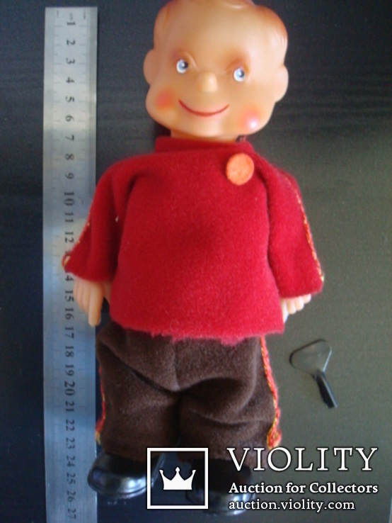 Заводная игрушка ГДР-Шагающий мальчик, фото №11