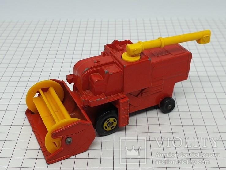 1977 Lesney Matchbox Combine Harvester (c), фото №2