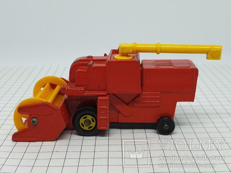1977 Lesney Matchbox Combine Harvester (c), фото №3