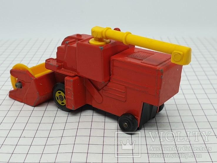 1977 Lesney Matchbox Combine Harvester (c), фото №4