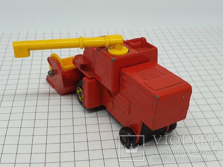 1977 Lesney Matchbox Combine Harvester (c), фото №5