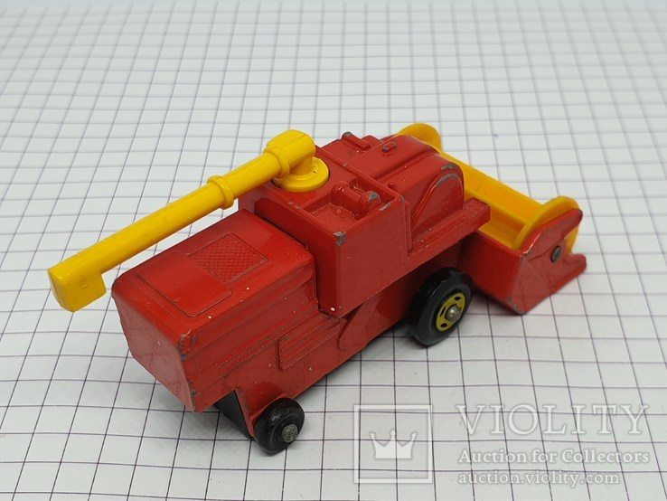 1977 Lesney Matchbox Combine Harvester (c), фото №6