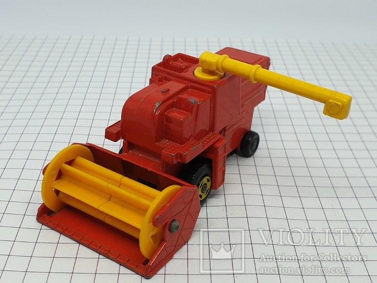 1977 Lesney Matchbox Combine Harvester (c), фото №8