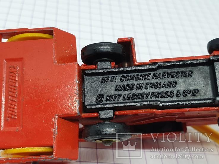 1977 Lesney Matchbox Combine Harvester (c), фото №9