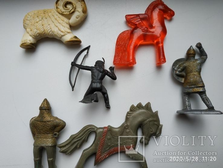 Фигурка всадника на коне МКИ (СССР) бонус животных, фото №3