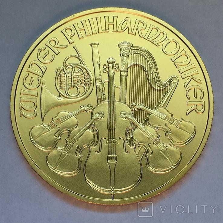 Австрия Филармония 2020 золото 1 OZ, фото №3