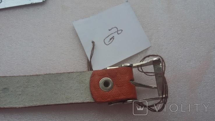 Ремешок кожаный из СССР, фото №11