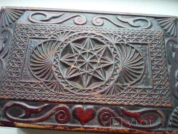 Старая  шкатулка на драгценности Австро Венгрия, фото №3