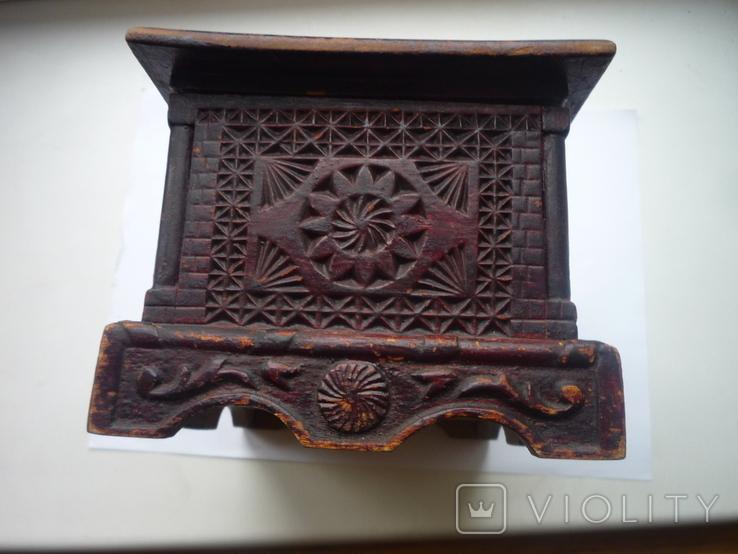 Старая  шкатулка на драгценности Австро Венгрия, фото №8