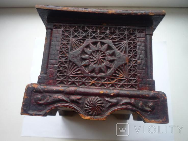 Старая  шкатулка на драгценности Австро Венгрия, фото №9