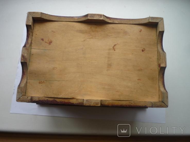 Старая  шкатулка на драгценности Австро Венгрия, фото №12