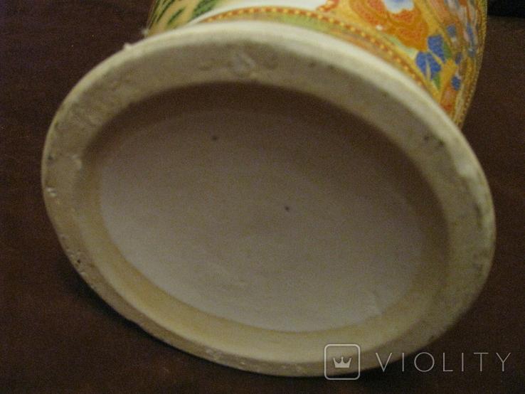 Старая азиатская ваза - фарфор - высота - 46 см., фото №13