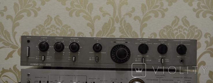 Усилитель Кумир (001) 35У 202, профилактика, фото №3