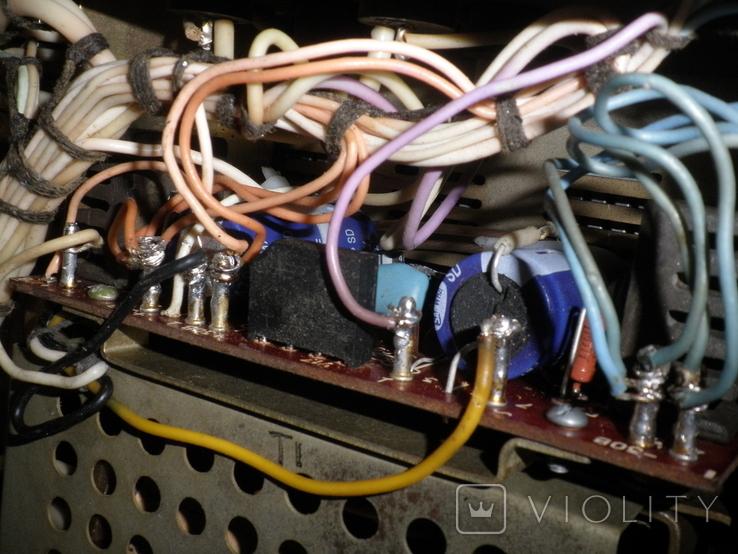 Усилитель Кумир (001) 35У 202, профилактика, фото №10