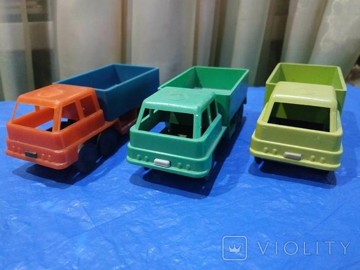 Три грузовика СССР, фото №2