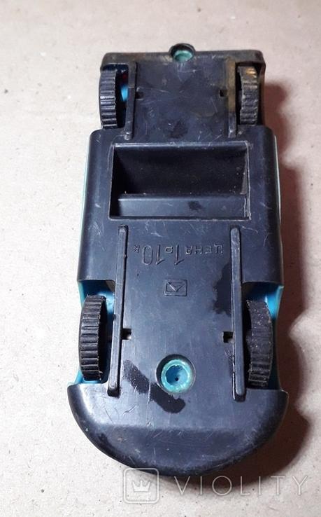 Гоночная Машинка СССР длина 11 см., фото №5