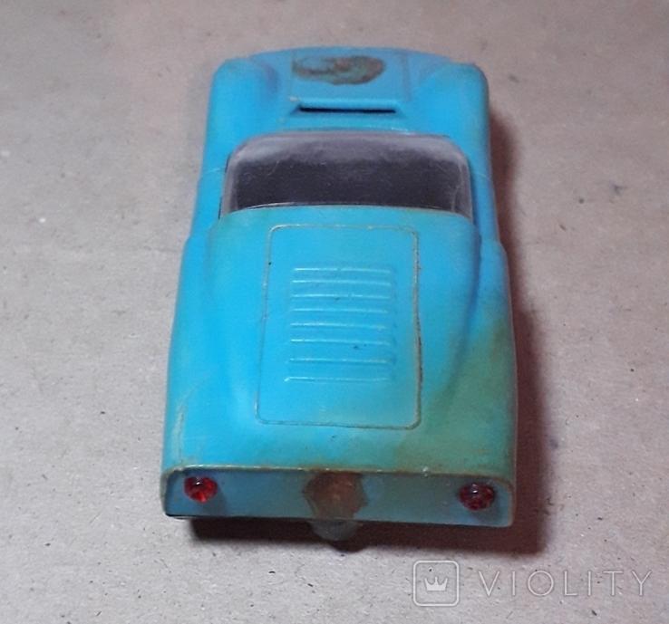 Гоночная Машинка СССР длина 11 см., фото №6