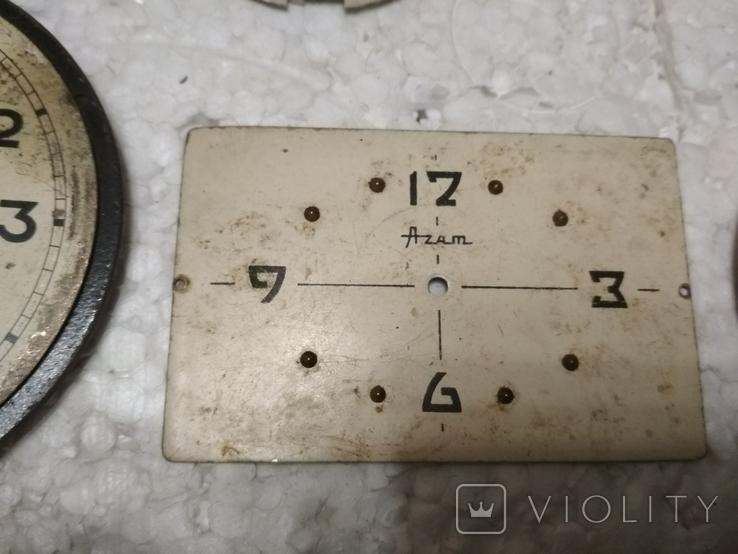 Циферблаты и стекла к разным настольным часам, фото №3
