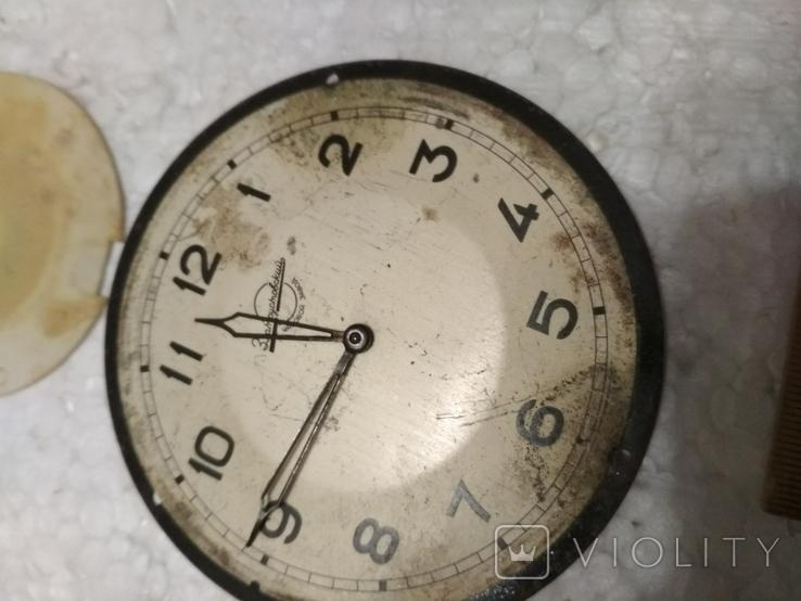 Циферблаты и стекла к разным настольным часам, фото №6