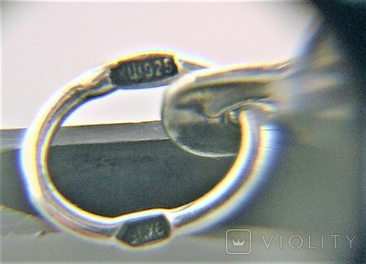Подвеска медальон серебро 925 проба 4,31 грамма Николай чудотворец, фото №8