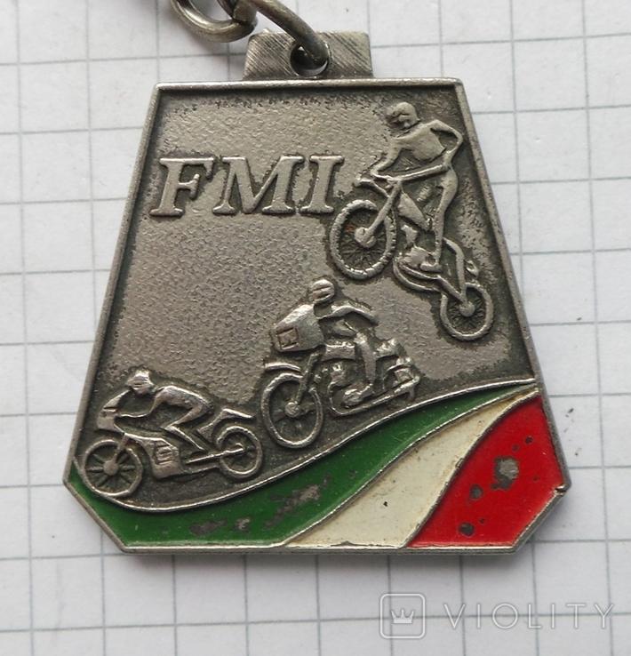 Брелок федерация мотоспорт Италия, фото №3