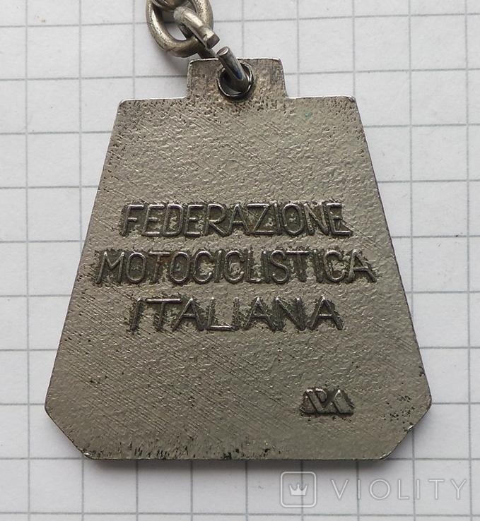 Брелок федерация мотоспорт Италия, фото №4