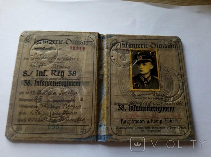 Копия.удостоверения.аусвайс.3 рейх. германия, фото №8